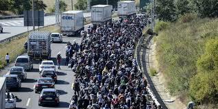 pakolaisvyöryt